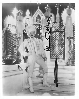 Marlene Dietrich -Autographed-Signed-Signature- 8x10 Photo