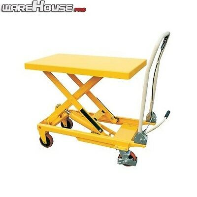 300KG NEW Manual Scissor Lift Table -Table Size 850x500mm-Table Height 880mm