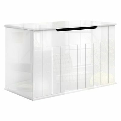 NEW Resort Living Stratton White Storage Toy Box