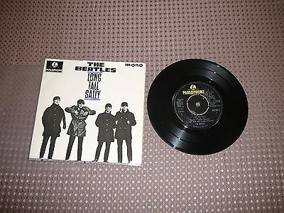Beatles Long Tall Sally Mono Uk Parlophone Ep Picture Sleeve Single 1964