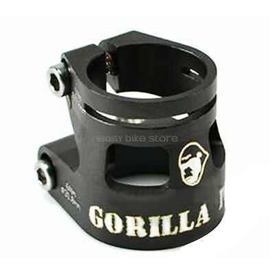GORILLA PARK Double Seatpost Clamp 27.2mm BIKE - BLACK