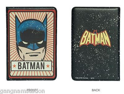 Batman Passport Holder Wanted Cover Travel Case Heroes