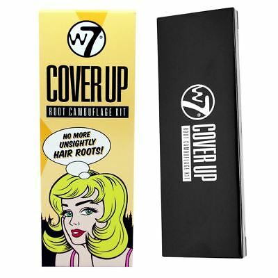 W7 Cover Up Hair Root Camouflage Kit Available in all Colour Covers Grey Hair