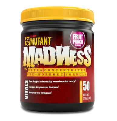 PVL Mutant Madness 262g Pre-Workout 50 Servings