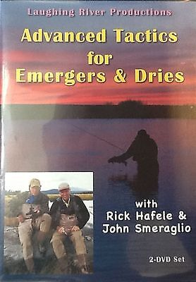 Advanced Tactics for Emergers & Dries - Rick Hafele Trout Fly Fishing DVD Video