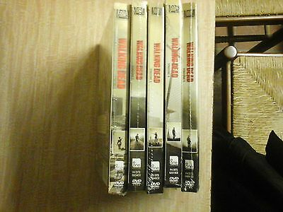 The Walking Dead - Stagioni 1 - 5 (20 DVD) - ITALIANI ORIGINALI SIGILLATI -