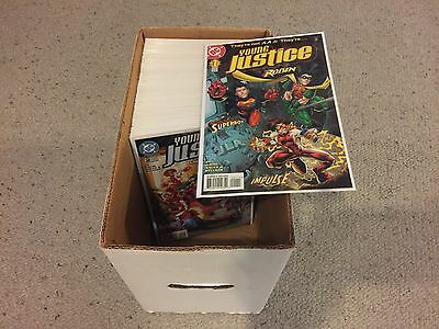 young justice 1 to 55 full run lot complete series