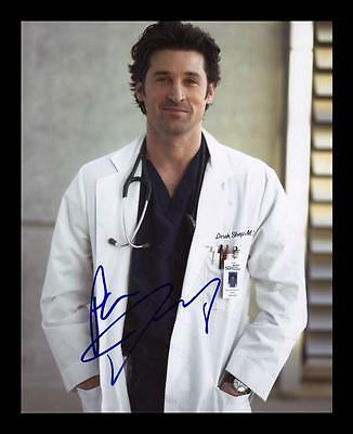 Patrick Dempsey Autographed Signed & Framed Pp Poster Photo