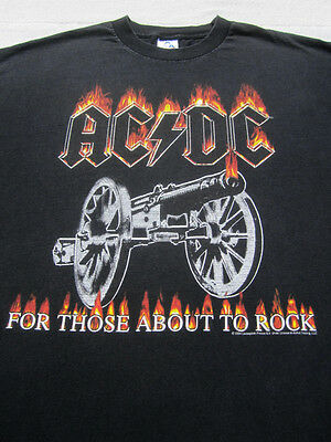 ACDC for those about to rock 2XL T-SHIRT xxl