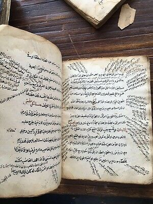 ANTIQUE OTTOMAN TURKISH HAND WRITTEN w ISLAMIC CALLIGRAPHY BOOK -6