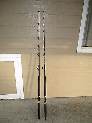 West Marine Island Rods 5'9' 30-80Lb. Great Condition Must See Set Of- 2