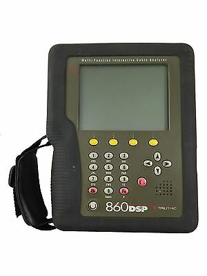 Trilithic 860 DSP Multi-Function Interactive Cable Analyzer Docsis 2.0, 1.1