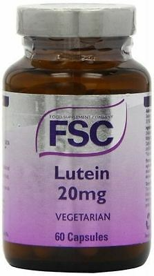 FSC Lutein 20mg - Pack of 60 Capsules