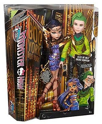 Monster High Boo York, Boo York Comet-Crossed Couple Cleo de Nile and Deuce Gorg