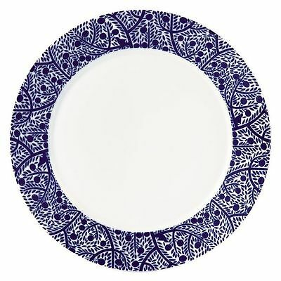 NEW Royal Doulton Fable Accent Tree Rimmed Dinner Plate, 27cm