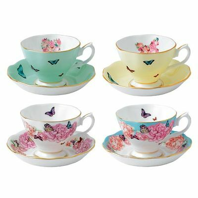 NEW Miranda Kerr for Royal Albert Cup & Saucer (Set of 4)