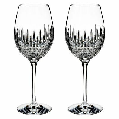 NEW Waterford Lismore Diamond Essence Goblet (Set of 2)