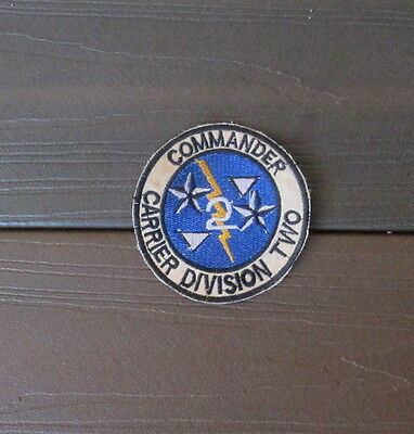 Vietnam War Patch- Us Navy Commander Carrier Division 2