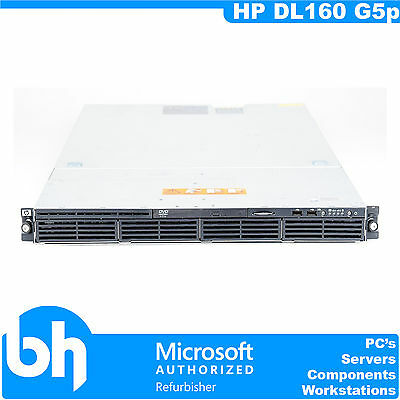 HP ProLiant DL160 G5p Quad Core Intel Xeon L5420 2.5GHz Rackable 24GB RAM