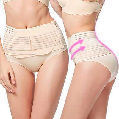 New Postpartum Recovery Belly Waist Tummy Belt Shaper Slimming Body Support Band