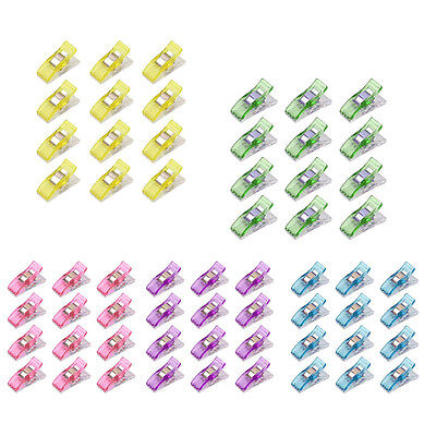 50pcs Plastic Quilter Holding Wonder Clips Sewing Accessories Quilt Binding New