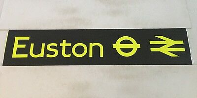 "London Bus Blind ( North West ) 46 42""- Euston Stations"
