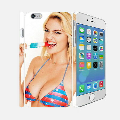 093 Kate Upton - Apple iPhone 4 5 6 Hardshell Back Cover Case