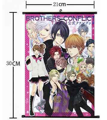 Hot Japan Anime Brother Conflict home decor Wall Scroll Poster 573