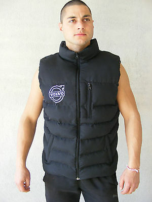 VOLVO Sleeveless Jacket Embroidered Logo on Front and Back size M - XXXL