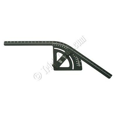 """Mittler Brothers 7"""" inch Radius Bend Protractor"""
