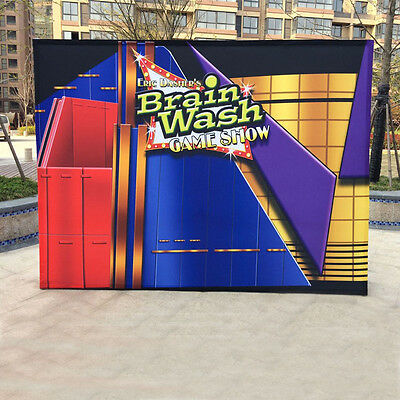 10FT Pop Up Trade Show Display Booth Exhibit With Customized Graphic