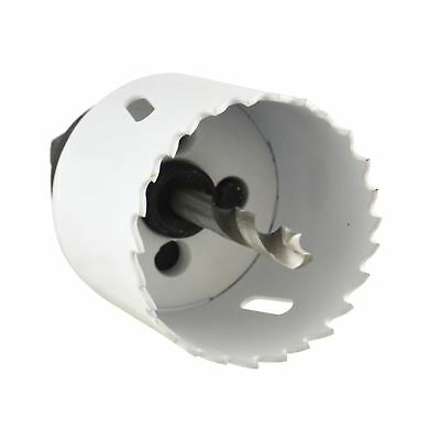 51mm HSS Hole Saw Holesaw Bi-Metal Blade Cutter Drill And Drill Adaptor Arbor
