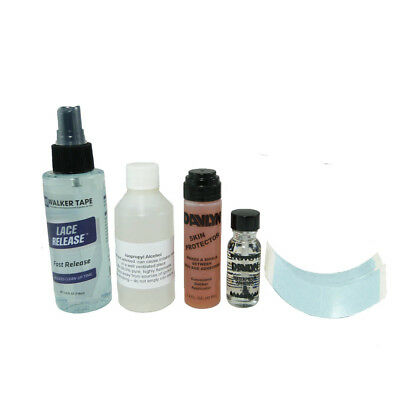 Lace wig toupee kit wig application starter pack (BLUE - STRONG HOLD)