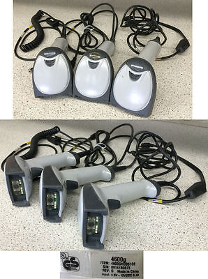 Honeywell 4600g Barcode Scanner w/Cable Lot of 3