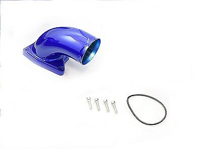 Blue Intake Elbow For 2003-2007 Ford 6.0L Powerstroke Diesel 6.0 F250 F350 F450