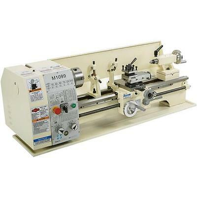 Shop Fox M1099 1 HP 110-Volt 10-inch x 26-inch Metal Bench Lathe, with Toolkit