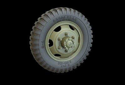 PANZER ART,1:35, RE35-314 GMC Road Wheels set (Goodyear) Resin Update