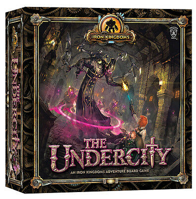 Iron Kingdoms Adventure: The Undercity Board Game PIP 61019