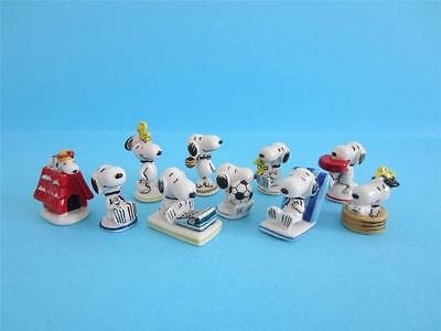 RETIRED MINIATURE PORCELAIN, SNOOPY GOOD TIMES COLLECTION, Woodstock, Soccer