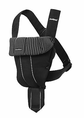 NEW.. BABYBJORN Baby Carrier Original - Black/Pinstripe, Classic Style