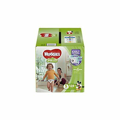 NEW Huggies Little Movers Slip On Diaper Pants Size 5 FREE SHIPPING