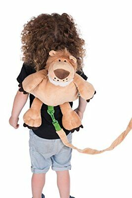 NEW 2 in 1 Kids Backpack with Harness Lion FREE SHIPPING