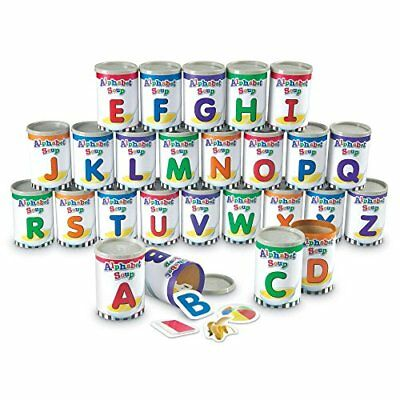 NEW Learning Resources Alphabet Soup Sorters FREE SHIPPING