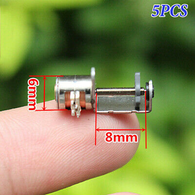 5PCS 2-phase 4-wire Micro Mini 6mm stepper motor linear screw slider block nut
