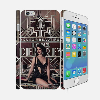 97 Lana Del Rey - Apple iPhone 4 5 6 Hardshell Back Cover Case