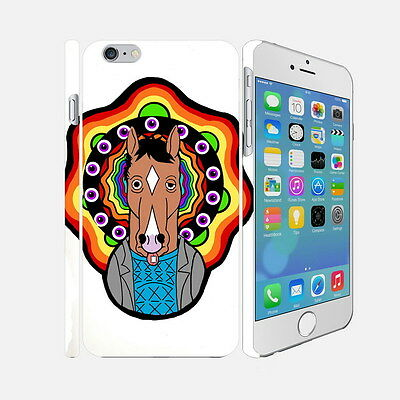 F025 Bojack Horseman - Apple iPhone 4 5 6 Hardshell Back Cover Case