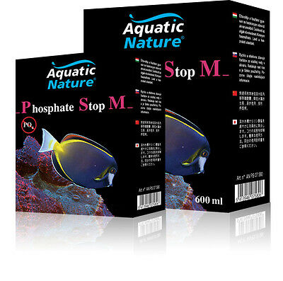 Aquatic Nature Phosphate Stop M - enfernt schnell Phosphat -  300 ml