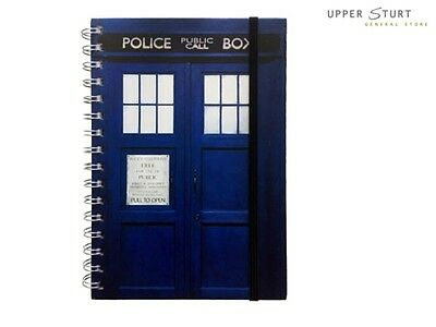 Doctor Who - Tardis A5 Notebook. FAST 'N FREE DELIVERY