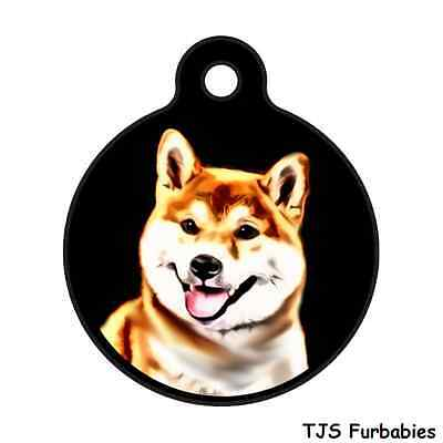 Akita-Personalized Pet ID Tag for Dog & Cat Collars & Harnesses