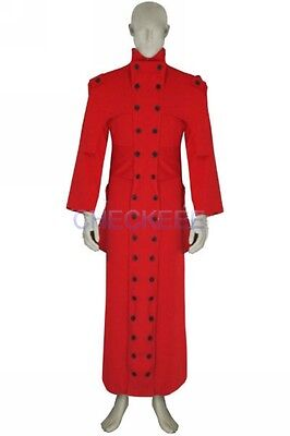 red Trigun Vash The Stampede Cotton Cosplay costume